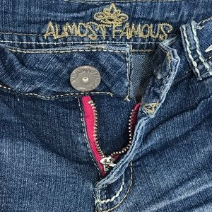 Almost Famous Shorts - Almost Famous Jean Shorts Low-Rise Cuffed Distress
